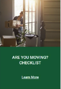 Are you Moving Checklist
