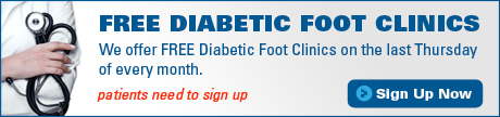 Free Diabetic Foot Clinics